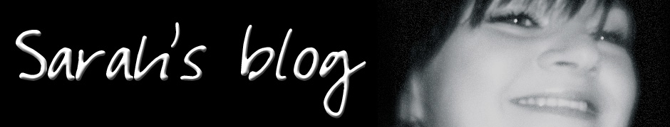 Sarah's Blog